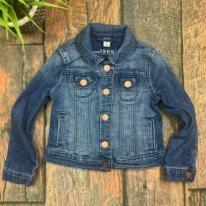 Gap girl's denim jacket